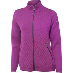 Ivanhoe of Sweden Elna Full Zip Jacket Women spring crocus